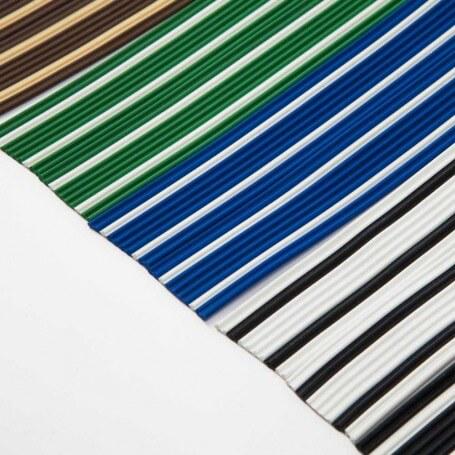 Cortina en cinta exterior para puertas PVC antimoscas CANARIAS