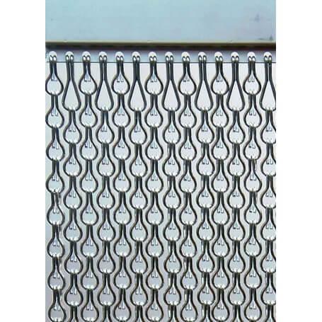 Incm cortina para puertas antimoscas aluminio mar sb doble - Cortinas para puertas de aluminio ...