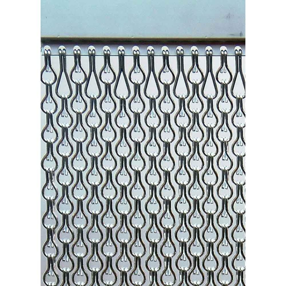 Incm cortina para puertas antimoscas aluminio mar sb doble for Cortinas puertas exterior baratas