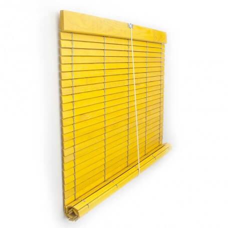 Color amarillo barnizada