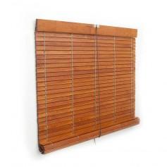 Persiana Alicantina madera colores barnizados polea metálica a medida