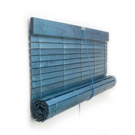 Color azul barnizada