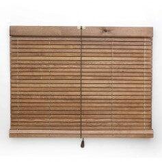 Persiana alicantina de madera pino d.o. Soria pintada o barnizada