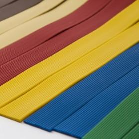 Rollo de cintas estriadas pvc colores opacos modelo Bruselas