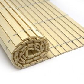 Rollos persiana alicantina de madera sin pintar