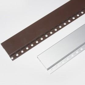 Montante cabezal cortinas de canutillo y cadena de aluminio