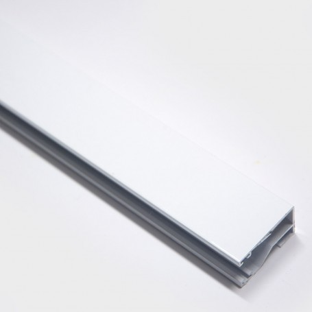 Montantes-n3-blanco-para cortinas-de-tiras-con-peine